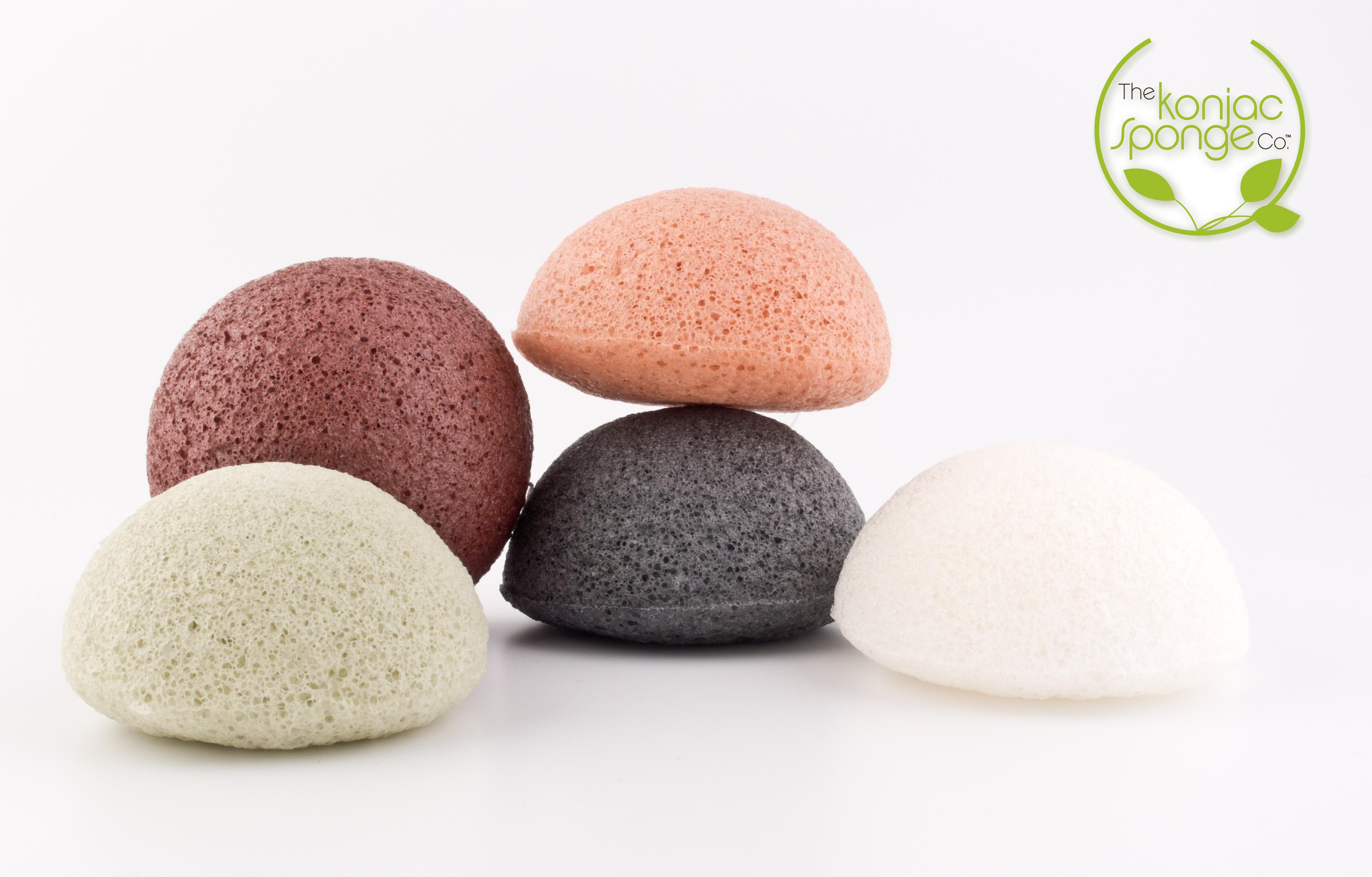 Esponja de lavar a cara – Esponjas Konjac