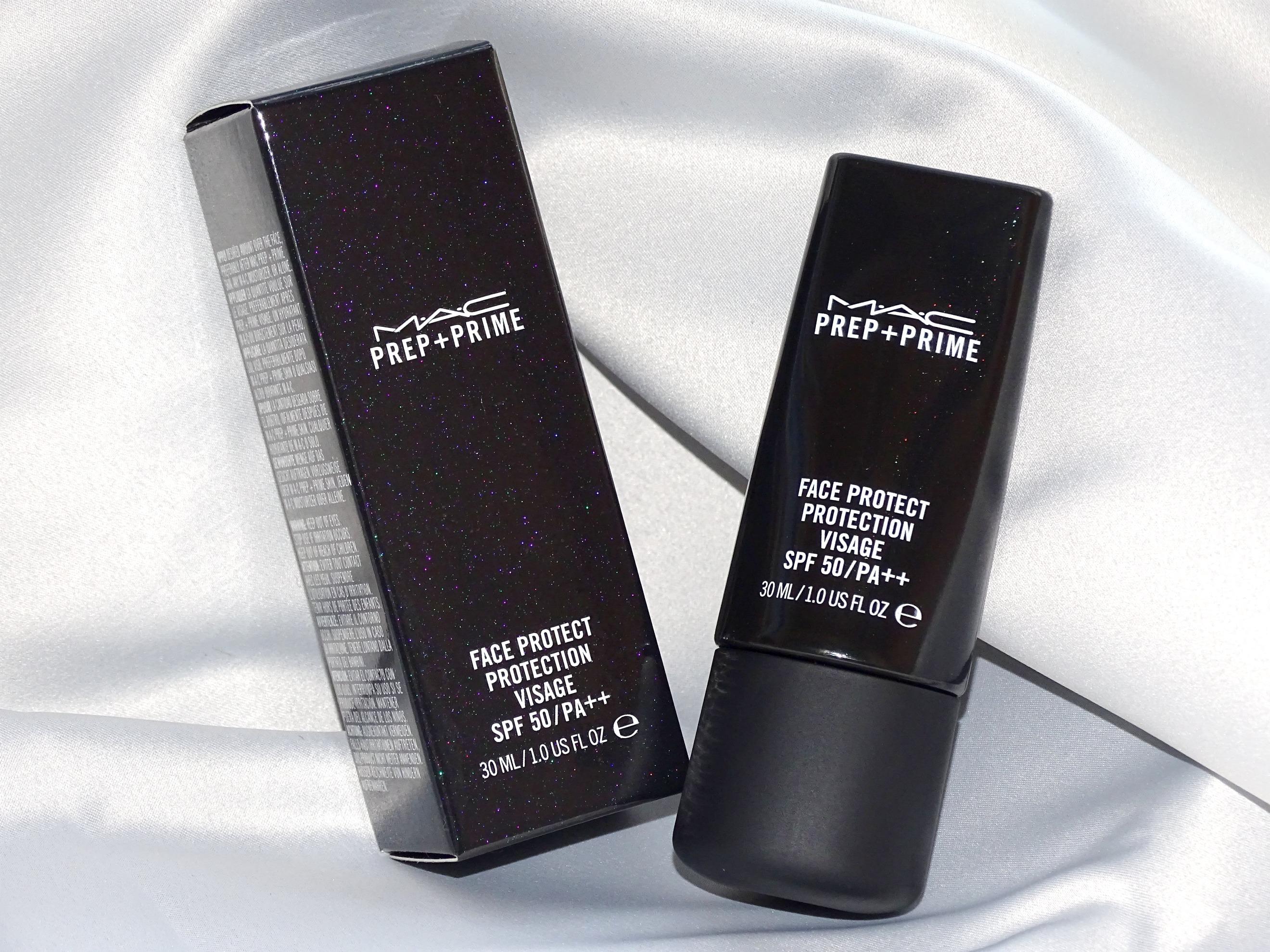 Protecção de verão: MAC, base de maquilhagem e filtro SPF 50, Protector da Cara Prep + Prime